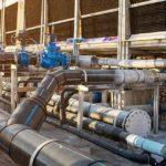 Chemie Branche Kühlturm