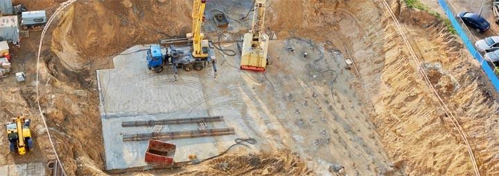 Grundwasserabsenkung Realisierung