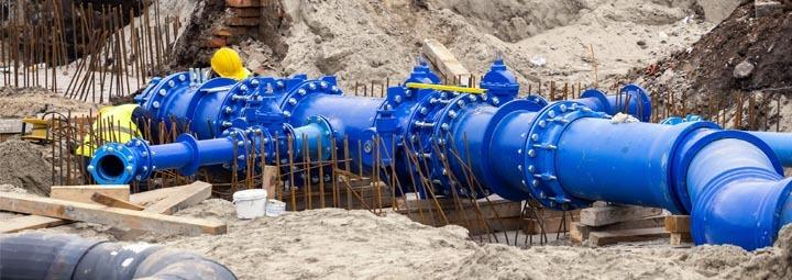 Construction dewatering Pump control