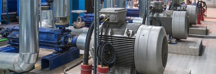 Pump control energy efficiency