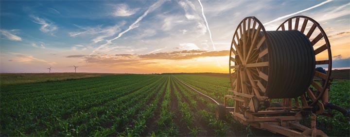 Pump control irrigation